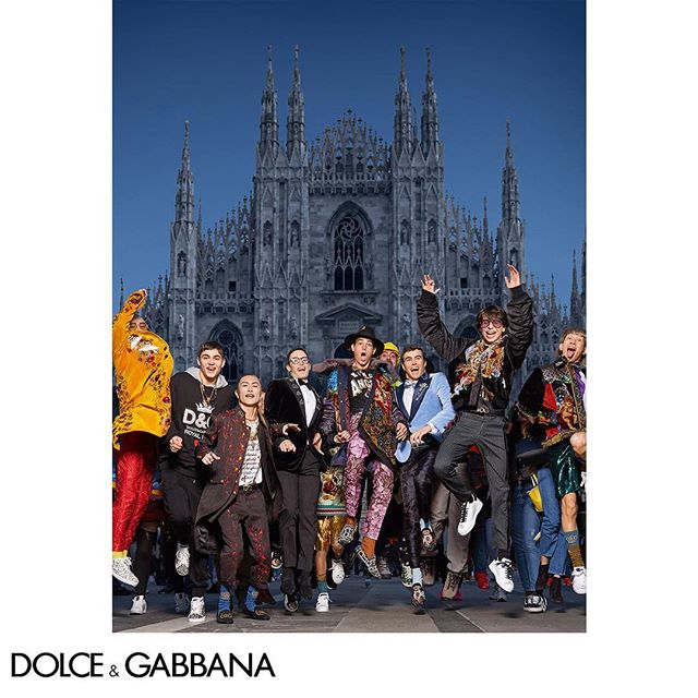 That #DGMillennials feeling.  Pictured by The Morelli Brothers for the Dolce&Gabbana FW18-19 Campaign. Link in bio. #DGMilano #DGCampaign #DGFW19 #DGMen #DGKingsAngels @morellibrothers