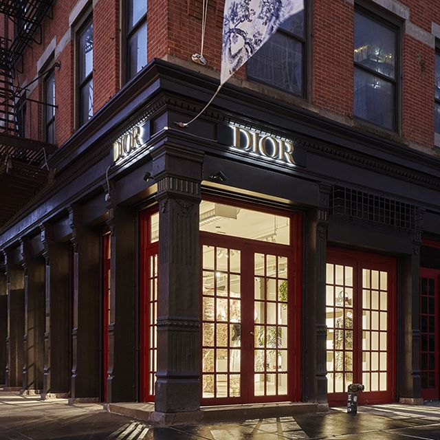 This ephemeral outpost will feature different collections rotating periodically, starting with a special women's beach-themed capsule. As a one-stop shop for all Dior categories, you're going to need to make more than one trip to 400 West 14th Street!