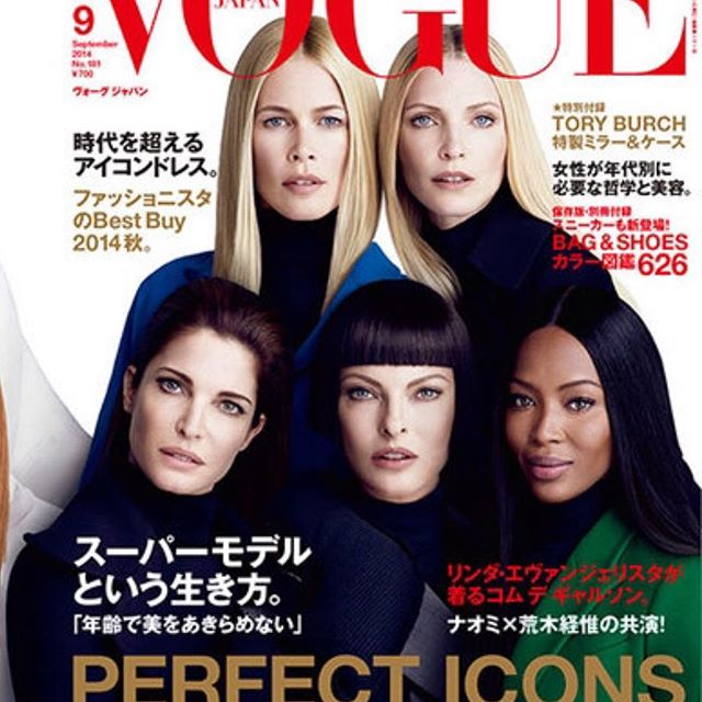 Throw back to My super model major fashion moment  15 Top Models  for the 15th years anniversary of @voguejapan September Issue 2014 shoot by @luigiandiango  style by me  @naomi @lindaevangelista @stephanieseymour @claudiaschiffer @nadjaauermann @evaherzigova @carolynmurphy @guineverevanseenus @maggierizer @misskarenelson @malgosia_bela @saskiadebrauw @taookamoto #batgioatwork @_virginiayoung_  @anna_dello_russo