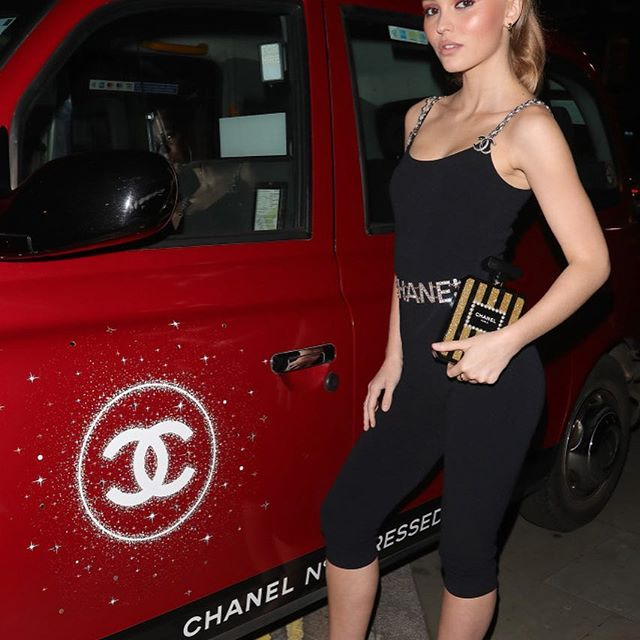 "I m a Gemini with Scorpio rising and had a French American upbringing. There are a lot of paradoxes in my personality,  said Lily Rose Depp at  a London event to celebrate Chanel s limited-edition red No.5 bottle. ""My mother and grandmother both wore [Chanel No. 5] and now it's being reinvented. That definitely has a paradox to it.  #wwdbeauty  #lilyrosedepp  #chanel"