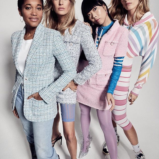 Told you that I get to celebrate my birthday twice this year! Pretty Birds, I share the cover of Grazia Uk s Luxe issue with these amazing women!!! @camillecharriere @susiebubble @veronikaheilbrunner  Thank you so much @graziauk @chanelofficial!    @alexbram for these shots!    @rebeccalowthorpe for the words!    @nataliewj       @mclipstick For the face!    @christoskallaniotis for blowing the wind maker through my TWA.    @Michavision for the         @hollyscottlidgett for thinking of me.       @chlomedley for being so fabulous!  This is truly incredible! I m smiling wall to wall. New levels! #theluxeissue #thegirlsbehindthegrid #thegramgirlgang
