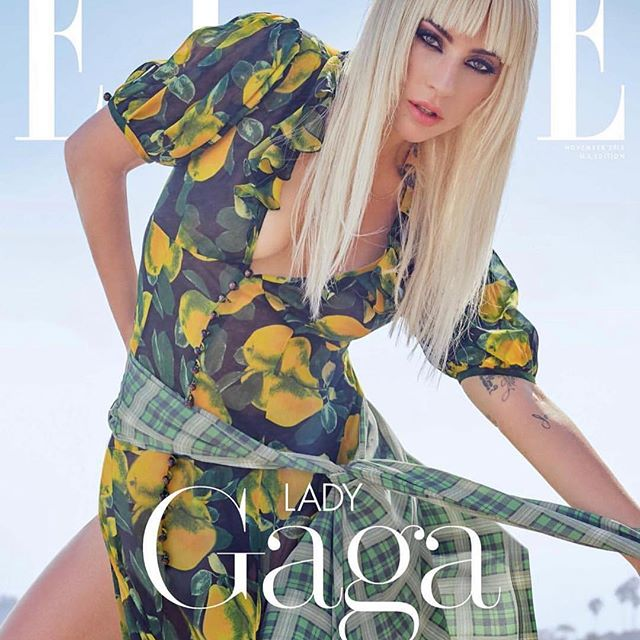 LOVE this cover! And big love to @ladygaga @sarahtannomakeup and @elleusa celebrating our REDUX GRUNGE COLLECTION 1993/2018