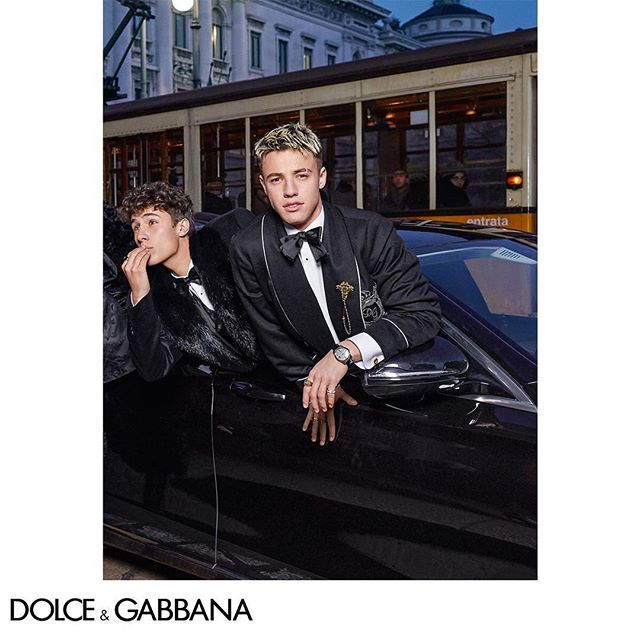 Take a ride with the #DGMillennials. Discover the Dolce&Gabbana FW18-19 Campaign.  Shot by The Morelli Brothers. Link in bio.  #DGMilano #DGCampaign #DGFW19 #DGMen #DGKingsAngels @morellibrothers