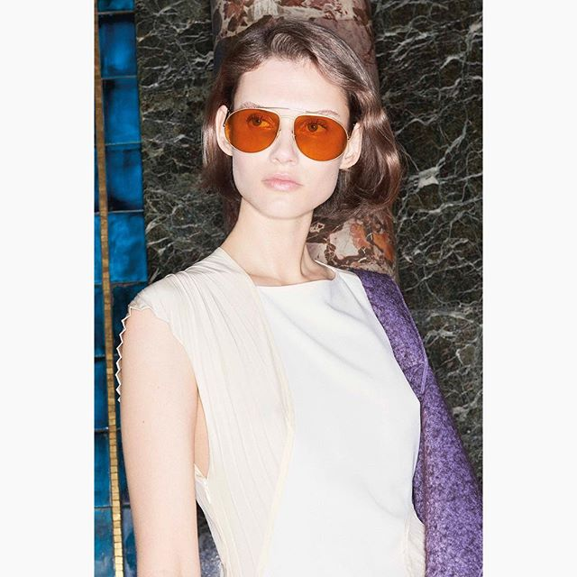 The perfect autumnal shades. The Soft Metal Aviator, inspired by 1970s tinted lenses, in caramel hues and saturated yellows. Now online and in stores! Shop at the link in bio xx VB #VBEyewear