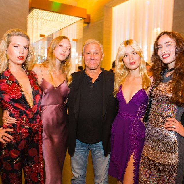 24 hours in Shanghai! Last night at the opening of @editionshanghai with my girls @theodorarichards @ellzzbellzzz @lizzyjagger and @ianschrager