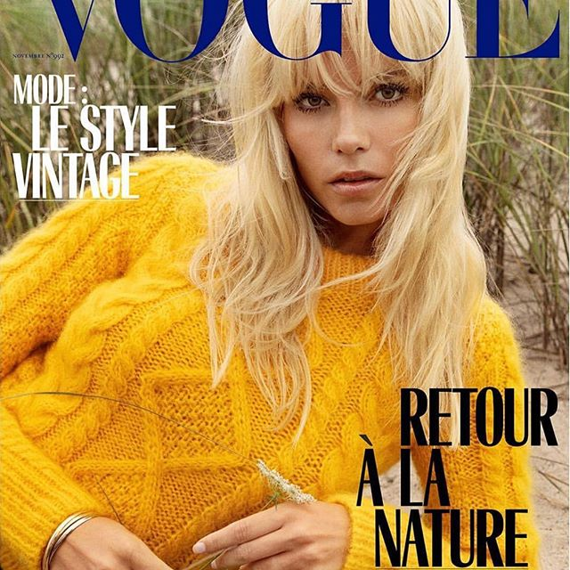 V GUE @vogueparis  So Blessed And Thankful To The Dream Team And My Family Photographed By @inezandvinoodh  Style By @emmanuellealt  Make Up @fulviafarolfi  Hair By @hairbychristiaan  Manicure By #MakiSakamoto @women_paris @womenmanagementny @pedja.gvd @sel07  #NovemberIssue #VogueParis  Out on October 26th.