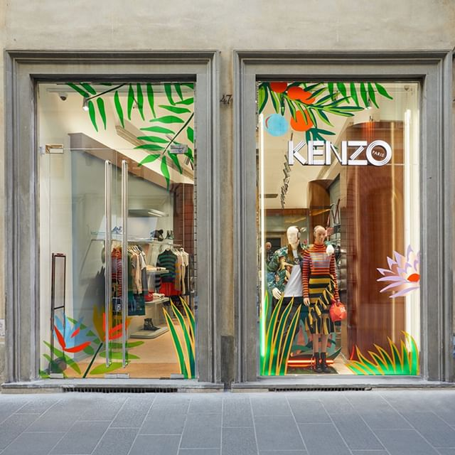 Come and discover the new KENZO boutique in Florence a unique space that stays faithful to the innovative spirit of the house. Visit the store at Via de' Tornabuoni 47R-49R Florence, Italy.  #collectionmemento3