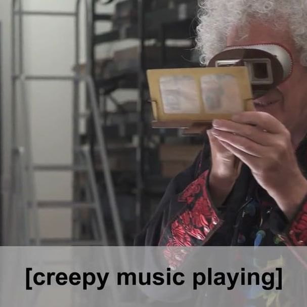 This #Halloween, we re diving into the creepy world of the   Diableries   with a little help from Dr. Brian May (@brianmayforreal). Swipe to watch this special video and visit the pieces in  3D: Double Vision,  on view until March 31, 2019. #LACMA3D