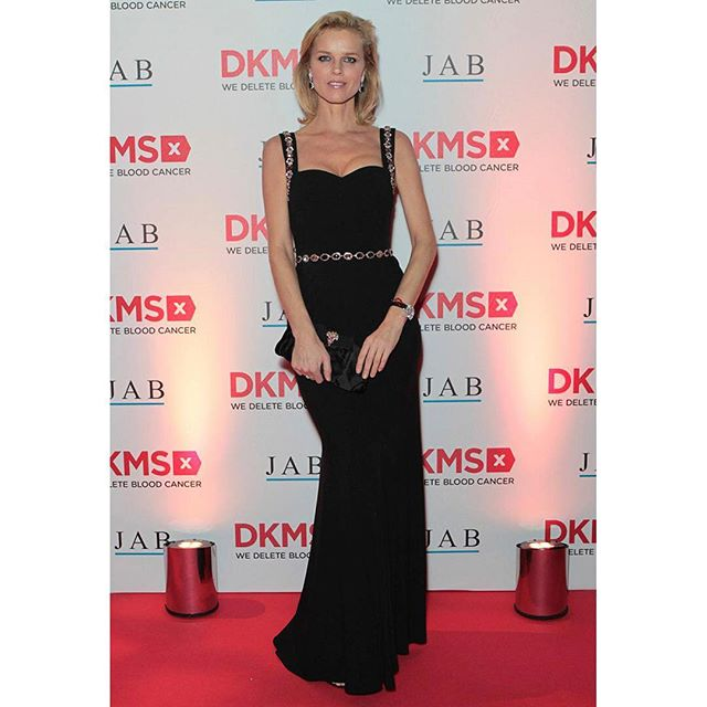 Eva Herzigova wearing Dolce&Gabbana at the Second Annual DKMS Big Love Gala at The Roundhouse on November 7th, 2018 in London, England. #DGCelebs #DGWomen