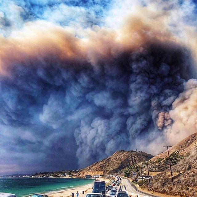 Thinking about everyone in California that has been affected by the wild fires. My heart is there with you.  Image via @ttstyle.