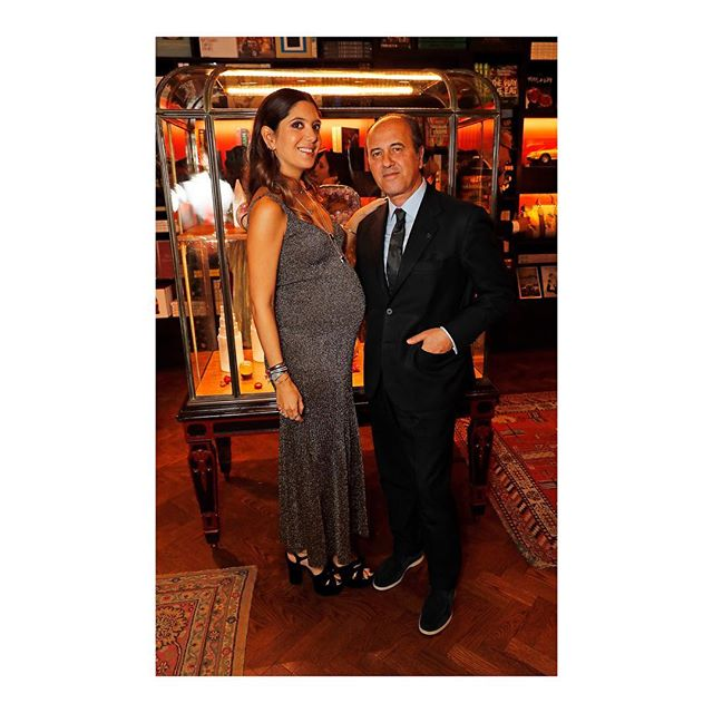 @noorfares hosted an intimate dinner with Prosper Assouline, to celebrate the launch of Noor Fares  new Prana collection at Maison Assouline in London. #NoorFares #PranabyNoorFares #KarlaOtto