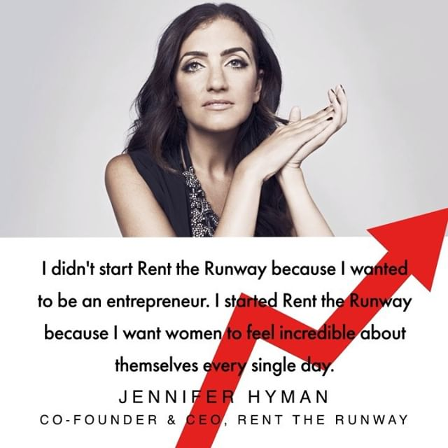 I wanted to find happiness in my career,  says Jennifer Hyman, co-founder and CEO of @renttherunway. It was this goal which took her on an accelerated journey from Harvard MBA graduate to launching her rental business for luxury ready-to-wear and accessories. Disrupting the fashion ownership model was no easy task, but now the company raised more funding than any other female-led venture backed business in the United States.  In episode seven of BoF s podcast series Drive, delivered by @dhlfashion, Hyman reveals how she executed her radical idea and attracted eight million subscribers to her platform. Tune in now. [Link in bio] #JenniferHyman #podcast #RenttheRunway