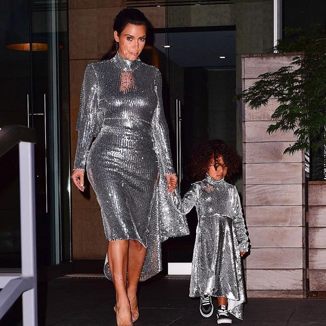 "Remember when Kim Kardashian West and her daughter North wore identical silver sequin Vetements dresses? Reactions ranged from  tasteless,  describing what some saw as an inappropriate way to dress a toddler, to  adorable  at seeing the three-year-old dressed like her mother. Regardless of the public s response, luxury brands are cashing in on ""mini-me"" dressing. Burberry, Gucci and Balenciaga are just some of the brands which have launched their own multi-million dollar childrenswear lines, capitalising on a trend which seems to tug at people s heartstrings   and their wallets. What do you make of the trend? [Link in bio] #fashion #kidswear #childrenswear  : Getty"