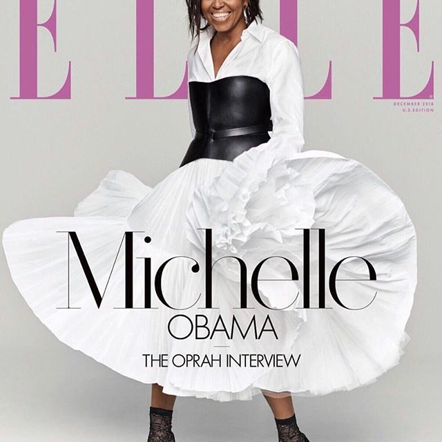 Xmas came early... I get to celebrate my birthday twice this year: I really don t know how to express my excitement about this moment. My spiritual guide @oprah interviews G.O.A.T @michelleobama for the release of her memoir  Becoming  for @elleusa.