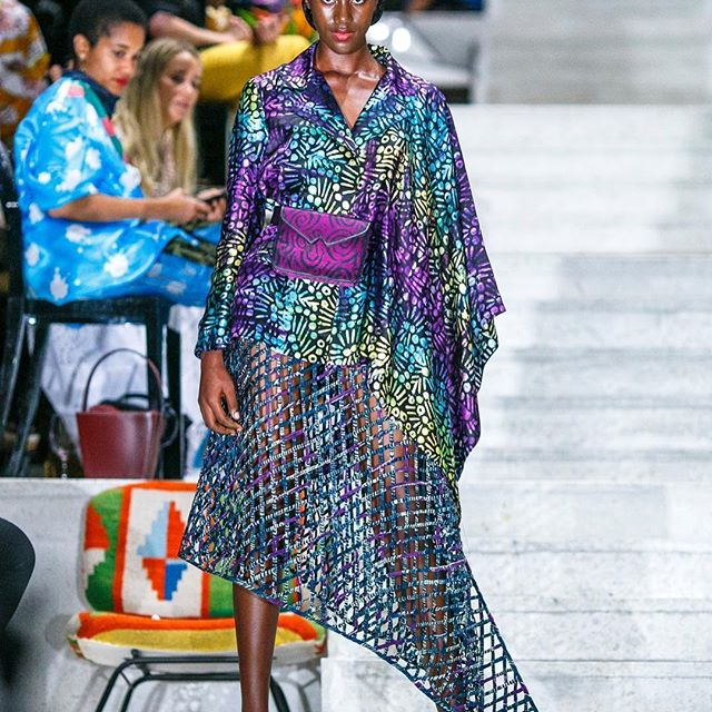 Let's go on a tour of the global fashion weeks   . . . Today, we revisit the inspiring collections showcased by designers during #LagosFashionWeek a few days ago. See all the looks on businessoffashion.com/fashion-week #fashion #fashionweek #style