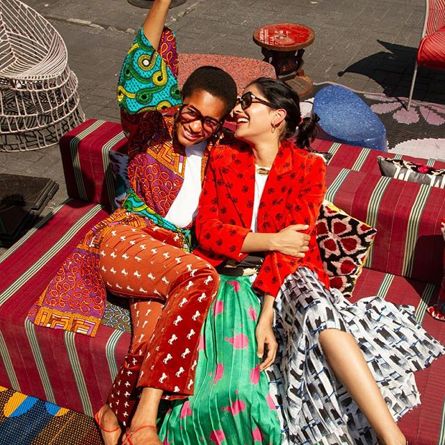 It s the weekend people! Please check out my friend Anum Bashir s @desertmannequin latest story for @manrepeller. The story was shot by wiz kid @rich_mnisi at Lagos fav @alaralagos. So happy to have made a little cameo.    Head over to MR and feast your eyes on  Colorful Fall Outfit Ideas That Don t Involve Jeans or Sweaters According to Lagos Fashion Week.