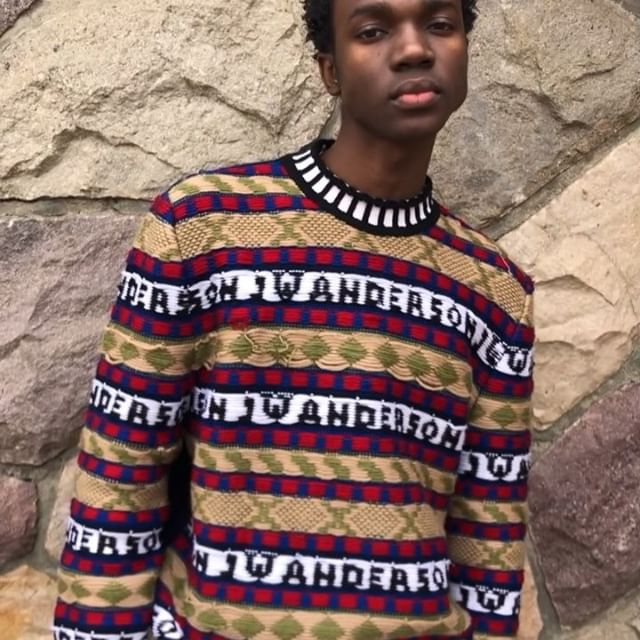 FAIRISLE LOGO INTARSIA CREW NECK AUNTUMN WINTER 2018 COLLECTION FILM PRODUCED BY @cole_fawcett MUSIC BY #Ménage à Trois's AVAILABLE ONLINE AND AT JW ANDERSON WORKSHOPS #JWAAW18 #JWANDERSON #JWANDERSONWORKSHOPS #JWANDERSONVIDEO