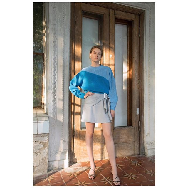 Sweater from Resort 2019 collection available at @themodist @shopbop  #annaoctober