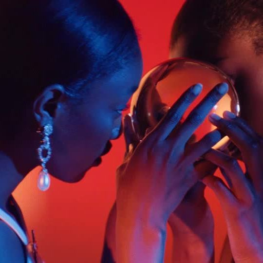 Can t resist it! The Sparkling Jewels collection in the new #MiuMiuMore video campaign directed by Gordon von Steiner, featuring @olivia_anakwe & @eniolaabioro.  Directed by @gvsgvs Art Direction by @gb65 & @kevittekinel Styling by @saramoonves Discover more via link bio.