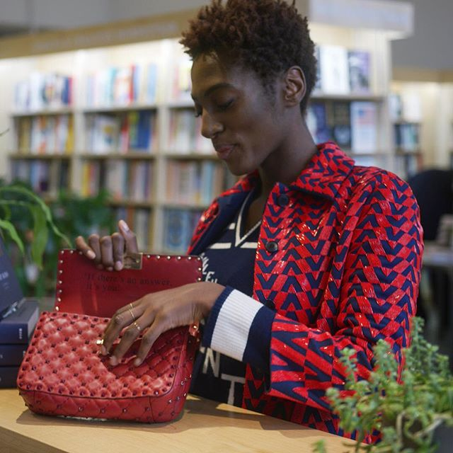 Number one wish: to touch you in your own language.       Valentino worked with @YrsaDaleyWard, the acclaimed author and poet of The Terrible and Bone on a limited edition Valentino Garavani #RockstudSpike which is customized by one of poet s verses on love. Every bag, numbered 1 to 400, comes in a special packaging that features an exclusive poetry book featuring 25 of Yrsa Daley-Ward s unpublished poems. Video directed by @difficult_pictures.