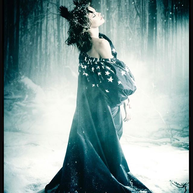 #TBT to  The Divine WinterQueen  @natasupernova Photograph  by Paolo Roversi style by me in 2011  @roversi . @batgioatwork