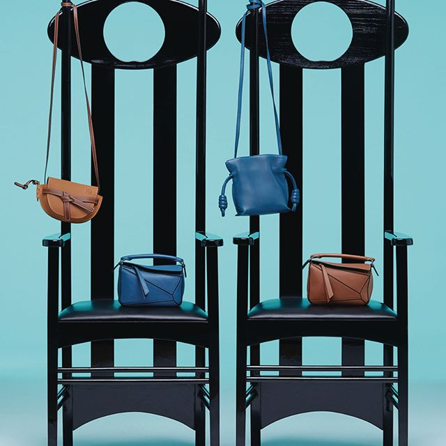 Mini versions of classic #LOEWE shapes. Now available in store and on loewe.com #LOEWEgifts #MiniGate