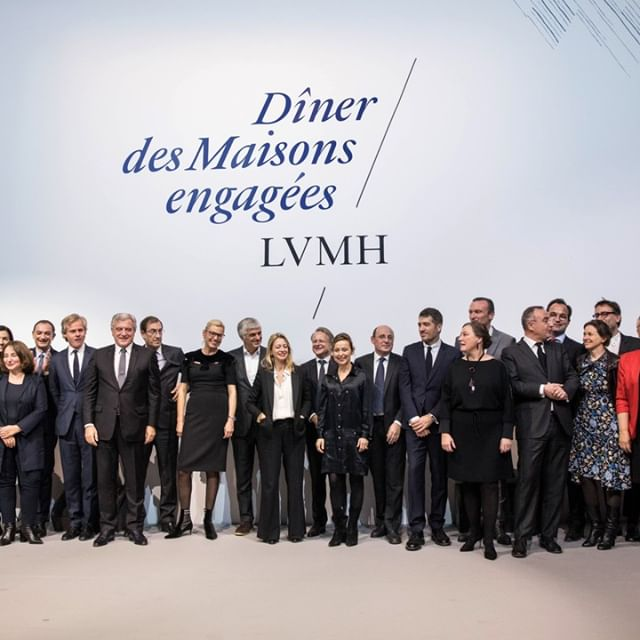 DÎNER DES MAISONS ENGAGEES 2018 On December 5, 2018, LVMH held its sixth annual Dîner des Maisons engagées at the Palais Brongniart in Paris. The event raised funds for the fight against sickle cell anemia, world s most widespread genetic disorder, affecting over five million people worldwide. LVMH and 30 of its Maisons help fund research to fight the disease and care for patients, supporting teams at Robert-Debré Hospital in Paris. _  : Cyril Moreau (Best Image)  _ #RSELVMH #LVMH
