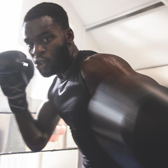 """It s my walk to the ring alone and it s my fight to fight alone.    14 years ago, Ghanian-born @boxingbuatsi came to the UK with a crazy dream. This Saturday, it s on him to keep fighting for it. #justdoit"
