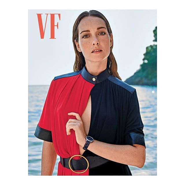 Actress @CristianaCapotondi wearing @GivenchyOfficial by @ClareWaightKeller is featured in @VanityFairItalia. Styled by @PeggyRice and photographed by @Yutsai88. #Givenchy #ClareWaightKeller #CristianaCapotondi #VanityFairItalia #KOFashion #KarlaOtto