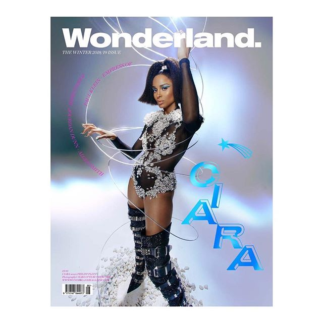 Singer @Ciara wearing @PhilippPlein on the cover of @Wonderland. Photographed by @Charlie__Chops. Styled by @ToniBlaze. #PhilippPlein #Wonderland #Ciara #WonderlandMagazine #CharlotteRutherford #ToniBlaze #KOFashion #KarlaOtto