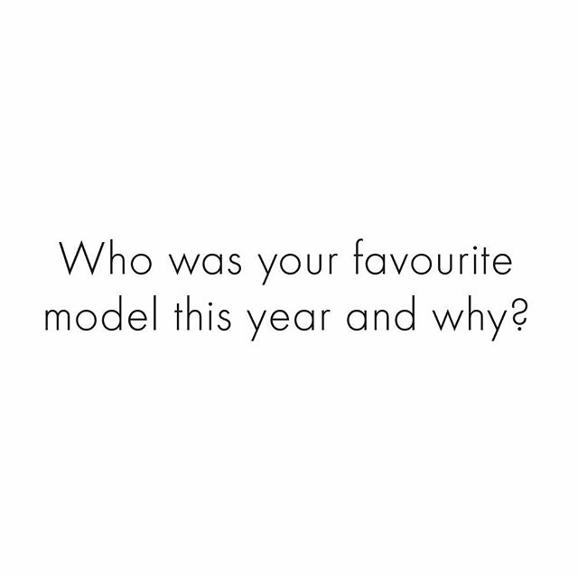 Did you have a new model in your heart this year or did you stick with an eternal flame?    Let us and them know by tagging your favourite in the comments!