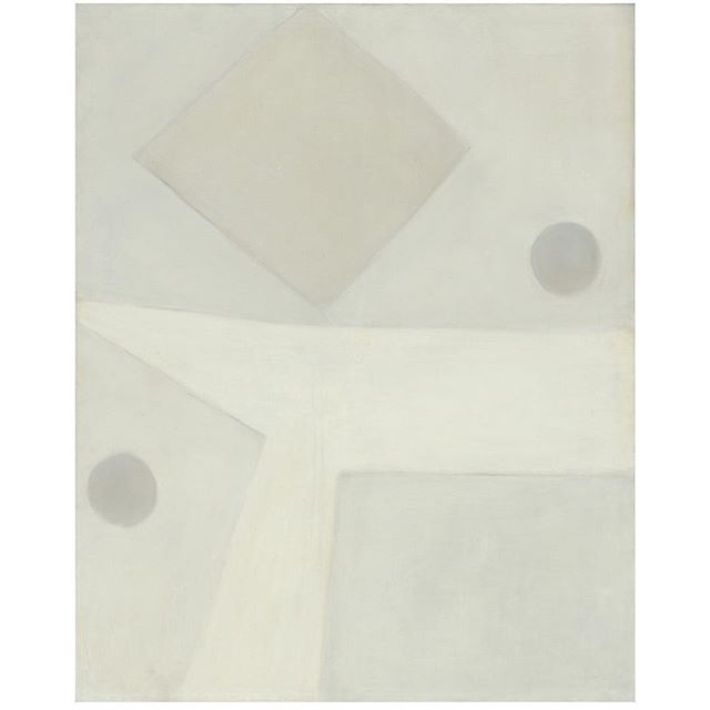 Agnes Martin; 'Harbor Number 1', 1957