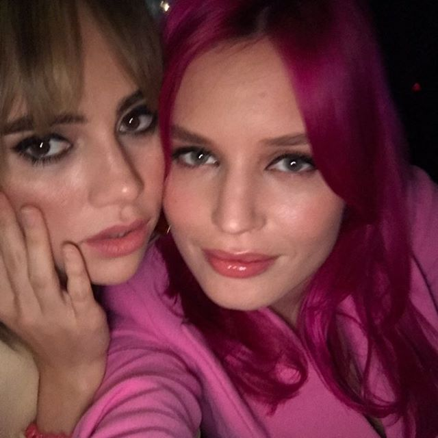 Happy Birthday dear @sukiwaterhouse you magical woman! Can t believe we ve know each other for 15 years. I love you so much here s to many more years of dancing and starting cover bands XXX
