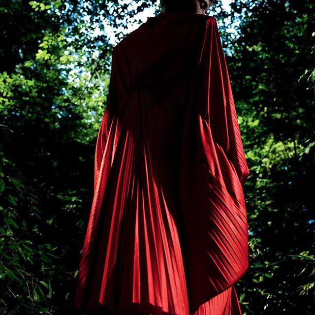 SPRING SUMMER 2019 WING DRESS - COMINGN SOON TO www.matchesfashion.com @matchesfashion pic: @documentjournal