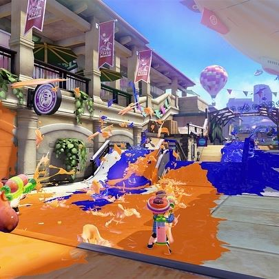 You play as Inklings in @nintendouk s fantastically fun #Splatoon series, morphing between humanoid and squid-like forms with colourful ink-filled weapons inspired by graffiti culture. See how the much-loved character clothing was influenced by Shibuya street style in Videogames #DesignPlayDisrupt. Plus, visit us on Saturday 12 January in your best #cosplay get-up and you ll get free entry to the exhibition! Links in bio.  #Splatoon2 #CosplayDay #inklings #octolings #Nintendo #NintendoWii #NintendoWiiU