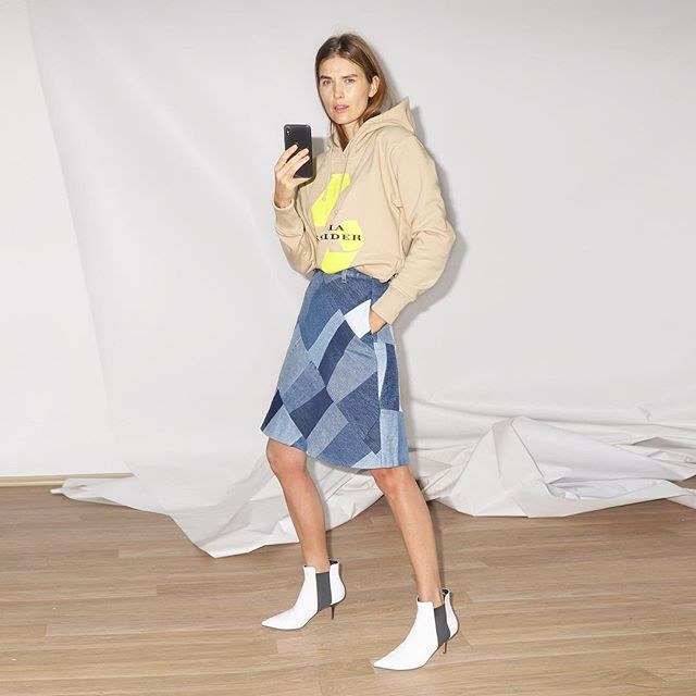 recycle is new sexy    #kseniaschnaider #selfielookbook #prefall2019