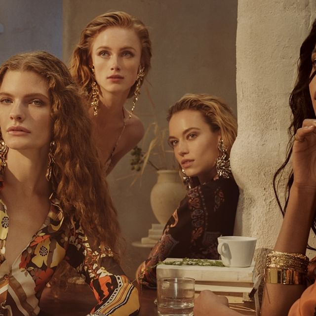 Introducing the bewitching characters of the #chloeSS19 campaign by #StevenMeisel: @carolina.burgin, @hannahfergusonofficial, @ImaanHammam, @riannevanrompaey #chloeGIRLS  Stay tuned for the full campaign film  Art direction @MMParisdotcom  Styling @AllegriaTorassa Hair @GuidoPalau Makeup @PatMcGrathreal