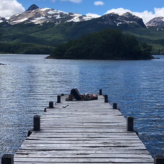 Missing our lake life in Patagonia Sud but bringing it home and commited to slowing down a lot in 2019. Wishing you all the same.