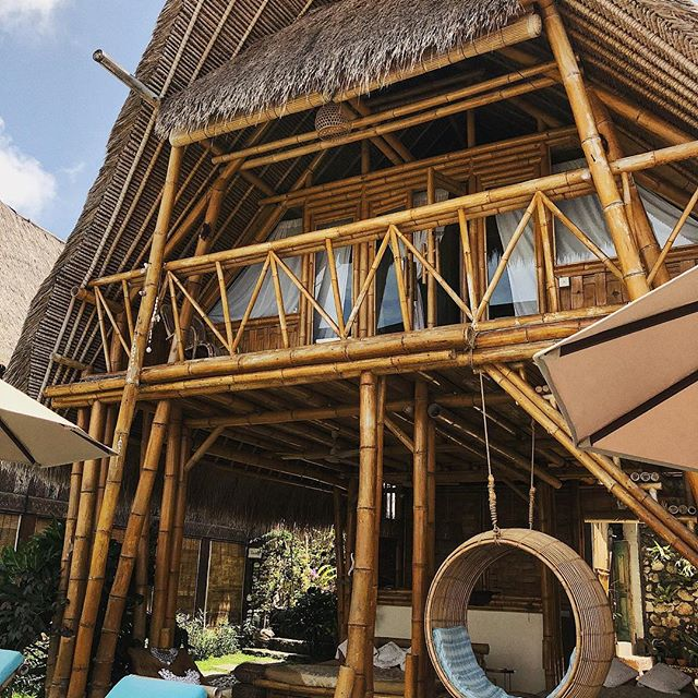 Always dreamt of a Bamboo house. And in Bali, dreams do come true   @torajabambu