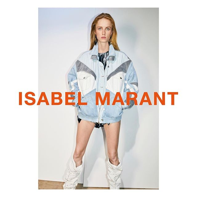 Unveiling the new Isabel Marant Spring-Summer 19 campaign.  Featuring @riannevanrompaey  Photographed by Juergen Teller