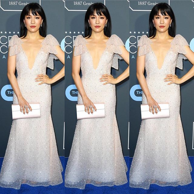 Love @constancewu wearing Rodarte SS19 to the @criticschoice Awards (styled by @micaela). #rodarte #constancewu