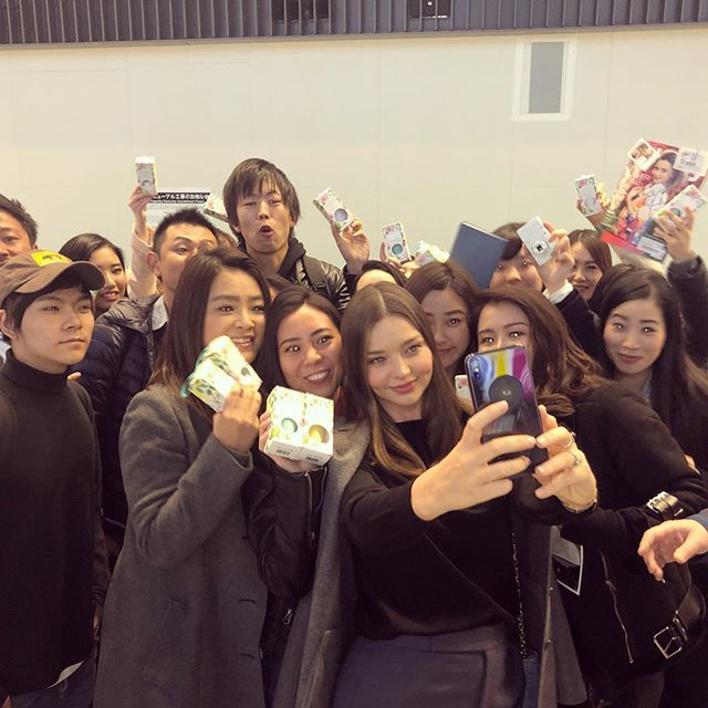 I love coming to Japan! Thank you for the warm welcome as always