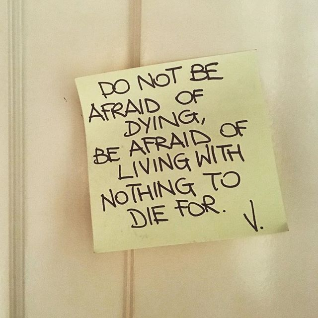 Morning wisdom! #postit #vvpostit