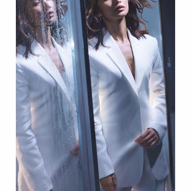 @gemma_chan in the new issue of @britishvogue in #VBSS19 tailoring, shot by @nick_knight and styled by @kphelan123 Head to the link in bio to discover the tailoring edit! x VB