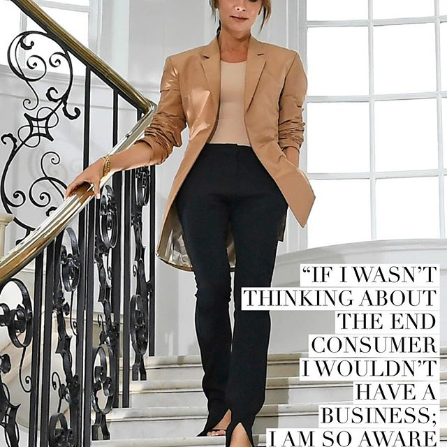 Victoria Beckham has developed a power-dressing formula of her own that revolves around elegant tailoring, cozy knits and feminine yet easy-to-throw-on midi dresses   and she keeps returning to it, as it clearly seems to appeal to her growing customer base of women who subscribe to her brand of modern femininity and glamorous yet no-fuss clothing.  Ultimately it does always have to come back to the customer and what she wants,  Beckham told WWD while presenting her pre-fall 2019 collection.  When we do want to do something different, it is about doing it in a way that she can understand, taking her by the hand and showing her how to put the pieces together so that she can try new things and challenge herself.  Report: @natalietheodosi . . . . . . . #wwdfashion #victoriabeckham #qotd