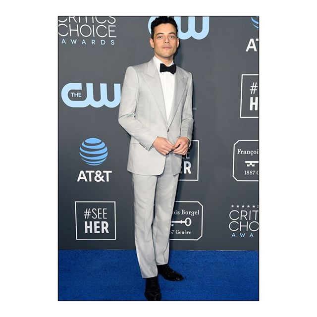 CRITICS  CHOICE AWARDS: Best Actor nominee #RamiMalek wore a #GivenchyFall19 outfit, designed by @ClareWaightKeller, to the 24th Critics  Choice Awards. #CriticsChoice #GivenchyFamily