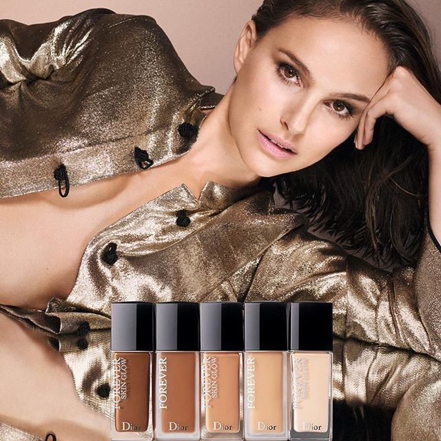 Love your skin to better love yourself! Discover the new Dior Forever Foundation with a sexier than ever @natalieportman. #diorforever #lovemydiorskin #diormakeup @diormakeup