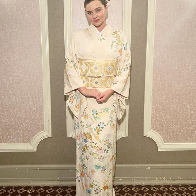 Traditional Kimono to celebrate the New Year in Japan