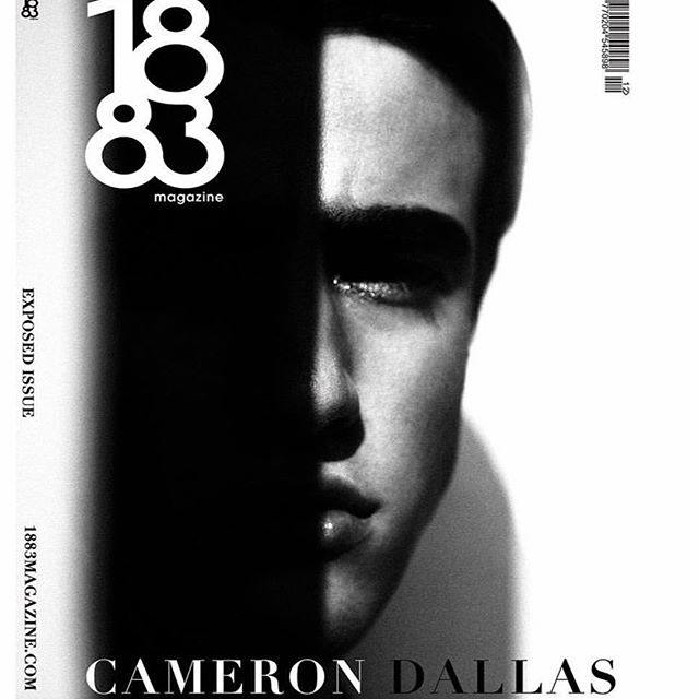 @camerondallas for @1883magazine by @kat_in_nyc and me #olgayanul    #camerondallas #katirlin #1883magazine #cover grooming by @christianmcculloch