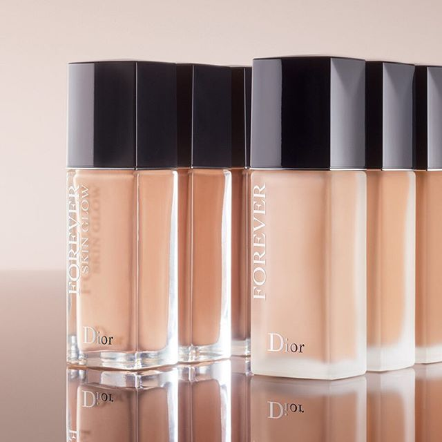 Dior Forever, with its boosted iconic matte finish, combined with the new Skin Glow, loves all complexions more than ever before.  #diorforever #lovemydiorskin #diormakeup @diormakeup